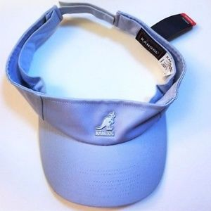 NWT Baby Blue Kangol Adjustable Velcro Visor